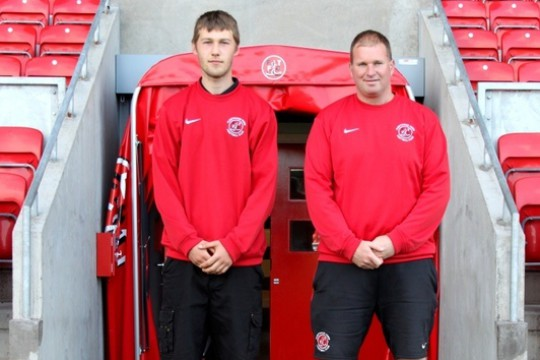 Fleetwood dream job for Sportsturf Apprentice Ashley