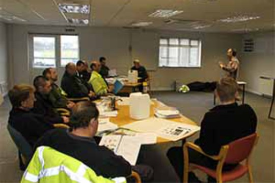Groundsman Training in Southern England
