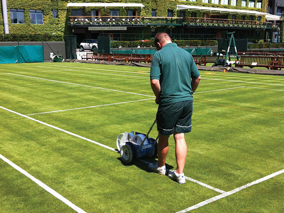 Initial Sports Line Marking