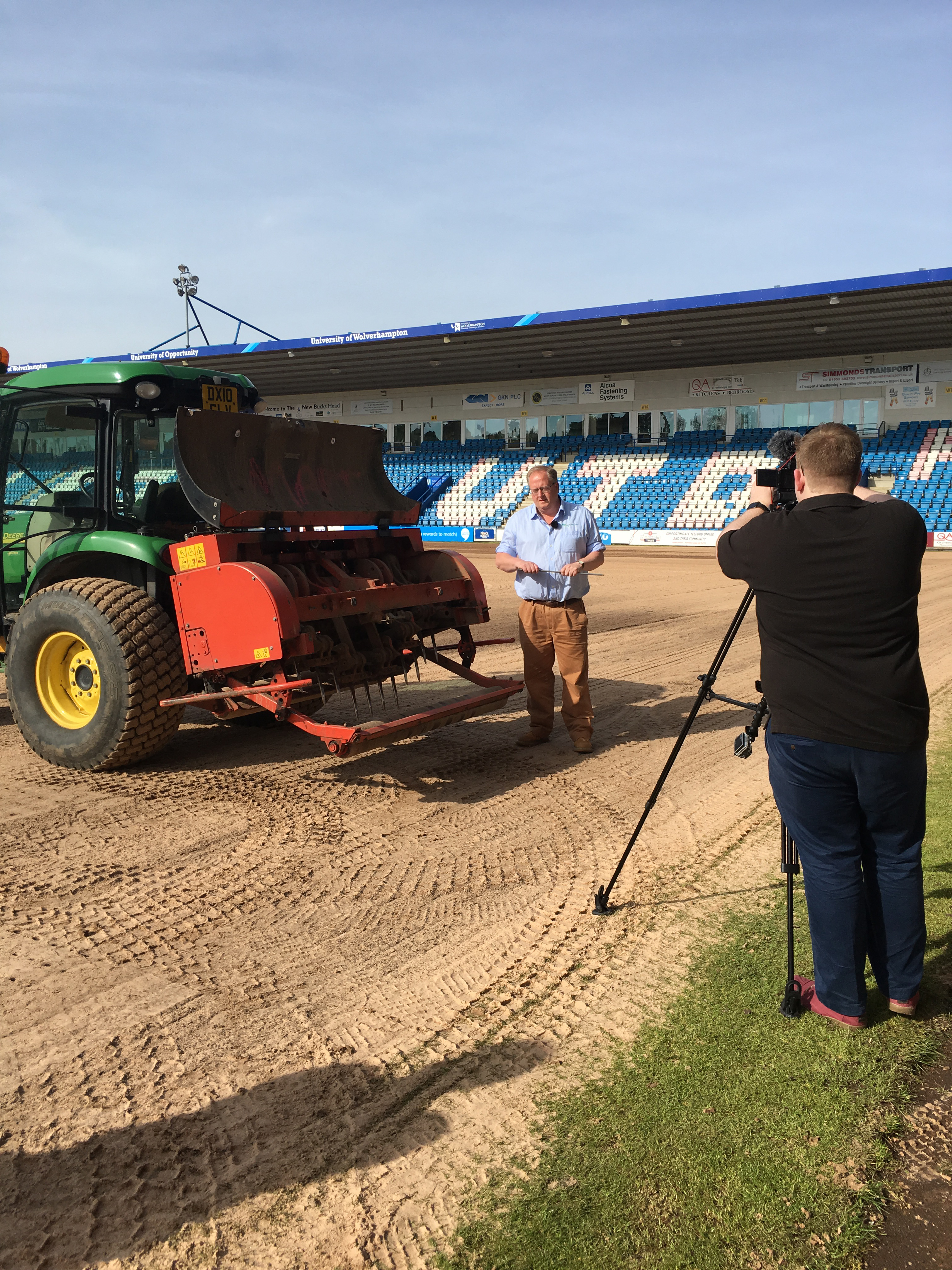Grounds Training filming
