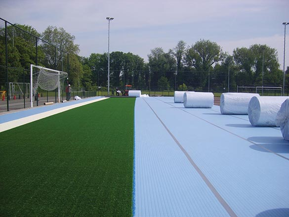 Synthetic Sports Surfaces Maintenance