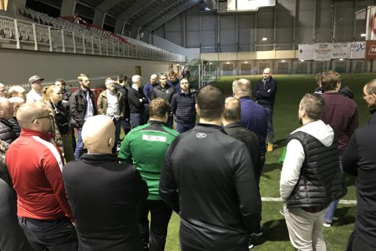 Replay travel to Iceland to deliver talk on synthetic surface maintenance