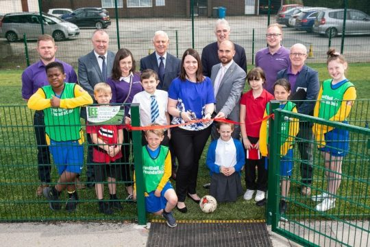 World Cup Pitches Come To Salford Primary Schools