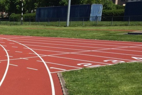 AquaTrax brings Ashton Playing Fields running track back to 'as new' condition