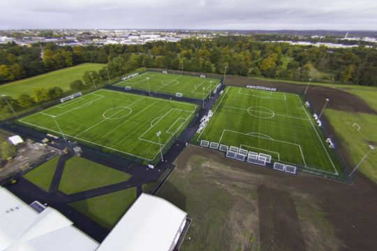 Jeffrey Humble Playing Fields opens in Liverpool