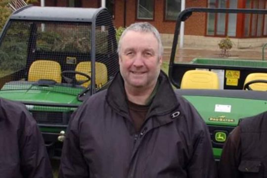 Two greenkeepers seriously injured
